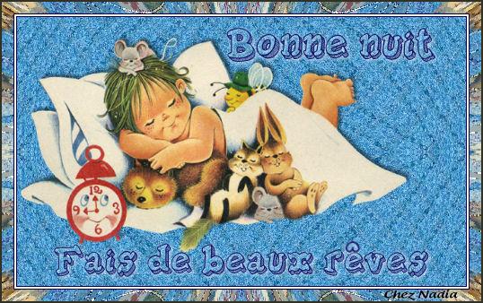 Bonne nuit beaux reves