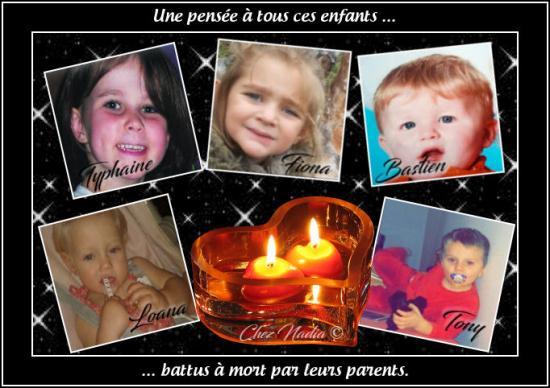 Hommage aux enfants tues