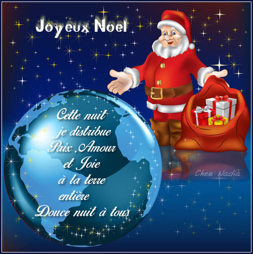 Noel distribution de paix