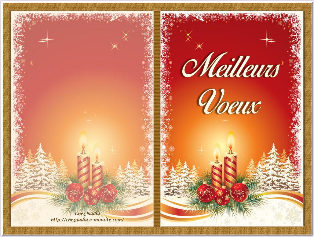 Carte De Noel Double A Imprimer Exactjuristen
